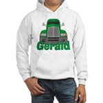 Trucker Gerald Hooded Sweatshirt