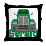 Trucker Gerald Throw Pillow