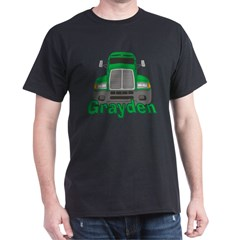 Trucker Grayden Dark T-Shirt