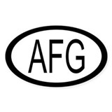 Afghanistan Car Decal / Decal