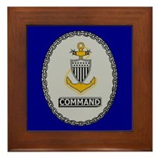Command Master Chief<BR> Framed Tile