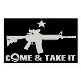 Come &amp; Take It - Obama Decal