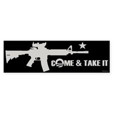 Come & Take It - Obama Car Sticker