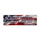 Thomas Jefferson Car Magnet 10 x 3