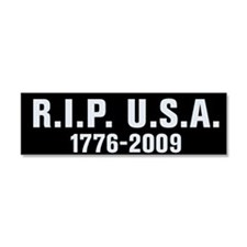 RIP USA Car Magnet 10 x 3