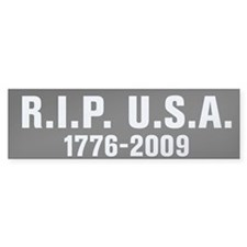 RIP USA Bumper Sticker