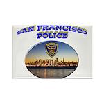 SFPD Skyline Rectangle Magnet (10 pack)