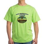 SFPD Skyline Green T-Shirt