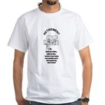 PONDERING RETIREMENT White T-Shirt