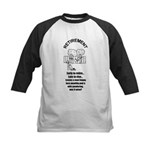 PONDERING RETIREMENT Kids Baseball Jersey