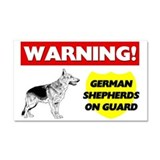 German Shepherd Car Magnet 20 x 12