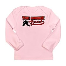 Hockey Goaltender Goalie Long Sleeve Infant T-Shir