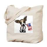 4th of July Chihuahua Tote Bag