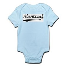 Vintage Montreal Infant Creeper