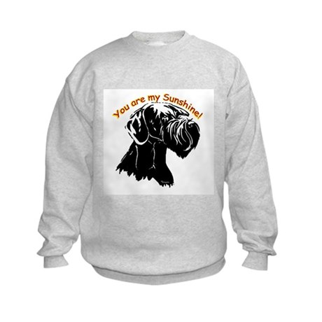 giant schnauzer Kids Sweatshirt