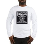 Chicago PD Homicide Long Sleeve T-Shirt