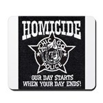 Chicago PD Homicide Mousepad