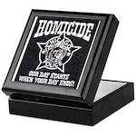 Chicago PD Homicide Keepsake Box