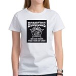 Chicago PD Homicide Women's T-Shirt