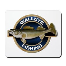 Walleye Fishing Mousepad