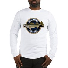 Long Sleeve Walleye Fishing T-Shirt