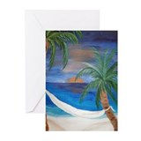 Hammock Sunset Greeting Cards (Pk of 10)