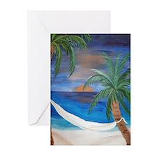 Hammock Sunset Greeting Cards (Pk of 10)