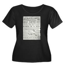 Oakland Tribune 1906 SF Earthquake T