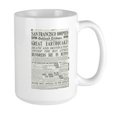 Oakland Tribune 1906 SF Earthquake Mug