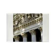 New York Stock Exchange Rectangle Magnet