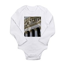 New York Stock Exchange Long Sleeve Infant Bodysui