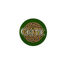 Celtic Knot Irish Mini Button