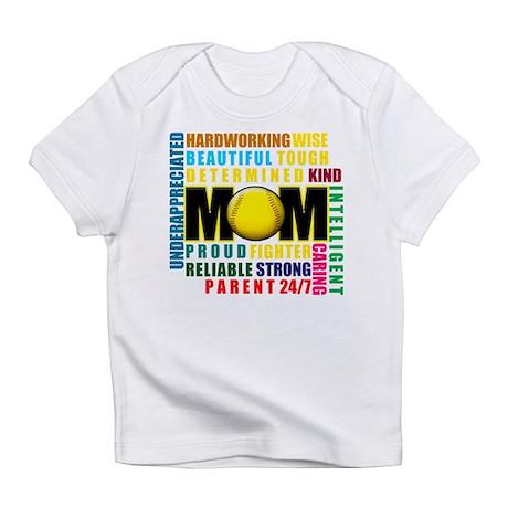 A Softball Mom Infant T-Shirt