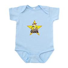 Cute Apple core Infant Bodysuit