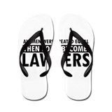 Lawyer design Flip Flops