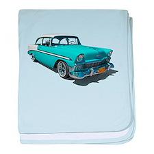 '56 Chevy Bel Air baby blanket