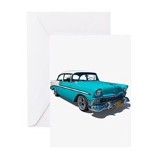 '56 Chevy Bel Air Greeting Card