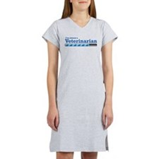 I'm almost a Veterinarian Women's Nightshirt