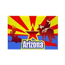 Arizona Rectangle Magnet