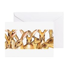 Hare Family ~ Greeting Cards (Pk of 10)