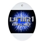 UNIR1 RADIO Ornament (Oval)