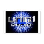 UNIR1 RADIO 22x14 Wall Peel