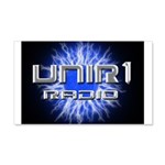 UNIR1 RADIO 22x14 Wall Peel