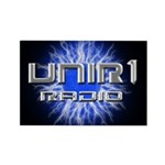 UNIR1 RADIO Rectangle Magnet (100 pack)