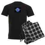 UNIR1 RADIO Men's Dark Pajamas