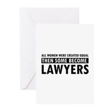 Lawyer design Greeting Cards (Pk of 20)