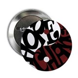 "YinYang of Hope & Change 2.25"" Button"