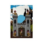 Medieval Knights and Castle Magnet (10 Pk)