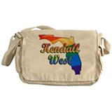Kendall West, Florida, Gay Pride, Messenger Bag