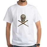 Cute Skull drum sticks Shirt